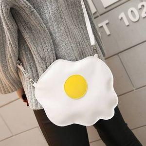 Handbags - Over easy egg purse